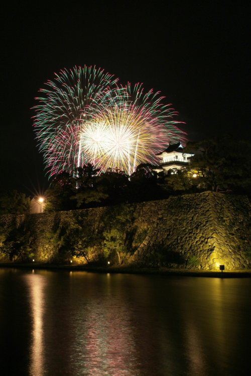 今治おんまく花火大会(愛媛県今治市)イメージ10