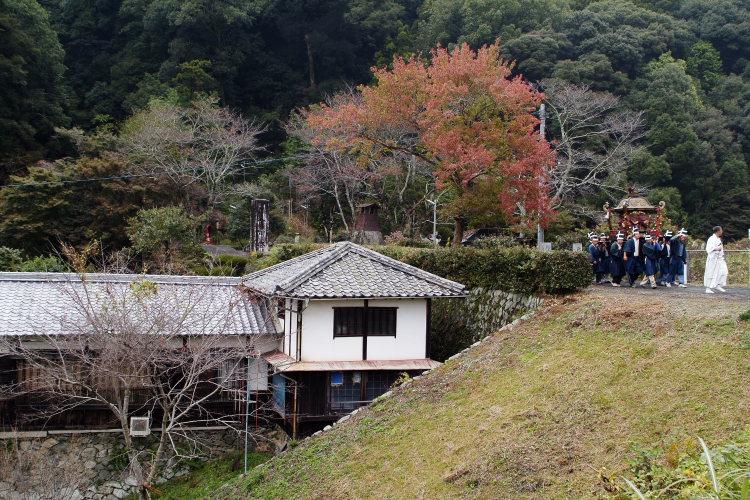 お成り(大洲八幡神社、愛媛県大洲市)イメージ7