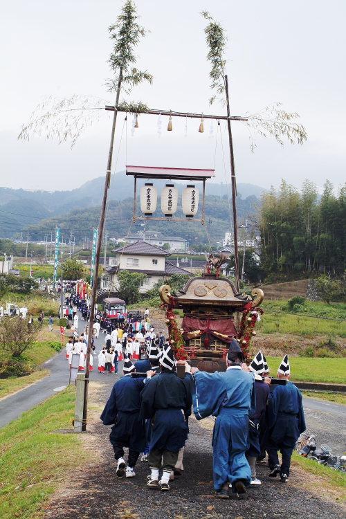 お成り(大洲八幡神社、愛媛県大洲市)イメージ9