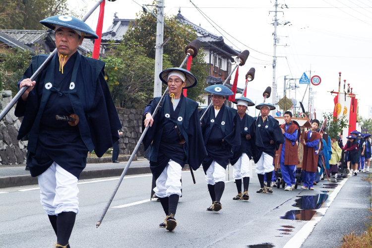 お成り(大洲八幡神社、愛媛県大洲市)イメージ12
