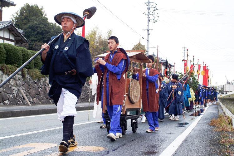 お成り(大洲八幡神社、愛媛県大洲市)イメージ14