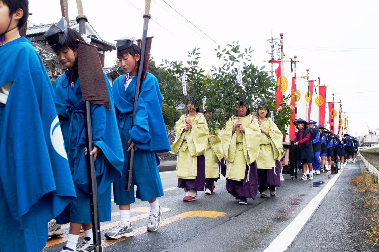 お成り(大洲八幡神社、愛媛県大洲市)イメージ13