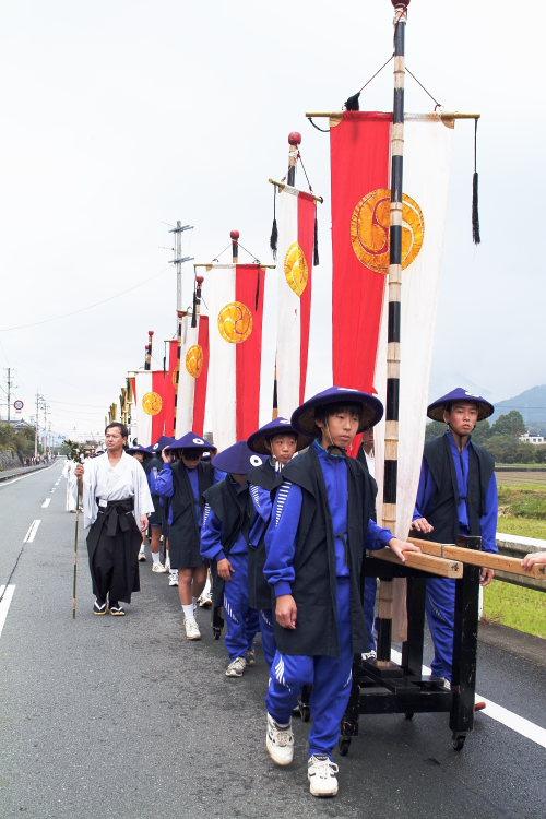 お成り(大洲八幡神社、愛媛県大洲市)イメージ17