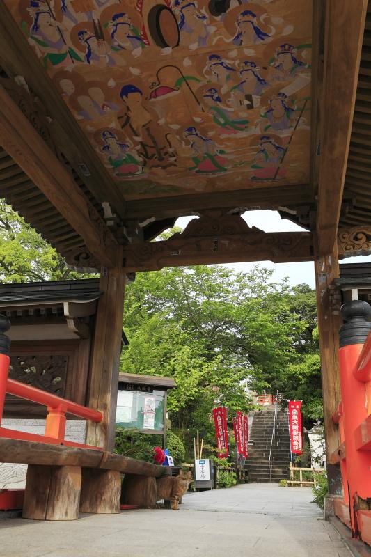 47番 八坂寺・参道_春(愛媛県松山市)_3イメージ1