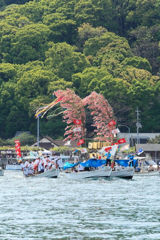 櫂練り_5月(鹿島祭り、愛媛県松山市)イメージ2