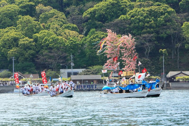櫂練り_5月(鹿島祭り、愛媛県松山市)イメージ3