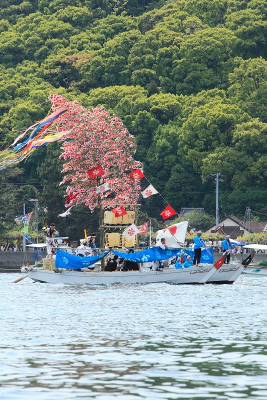 櫂練り_5月(鹿島祭り、愛媛県松山市)イメージ5
