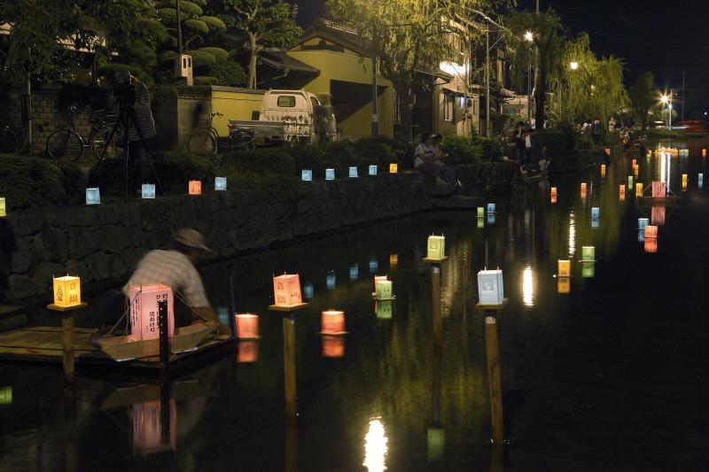 灯籠流し_8月(愛媛県松前町)イメージ1