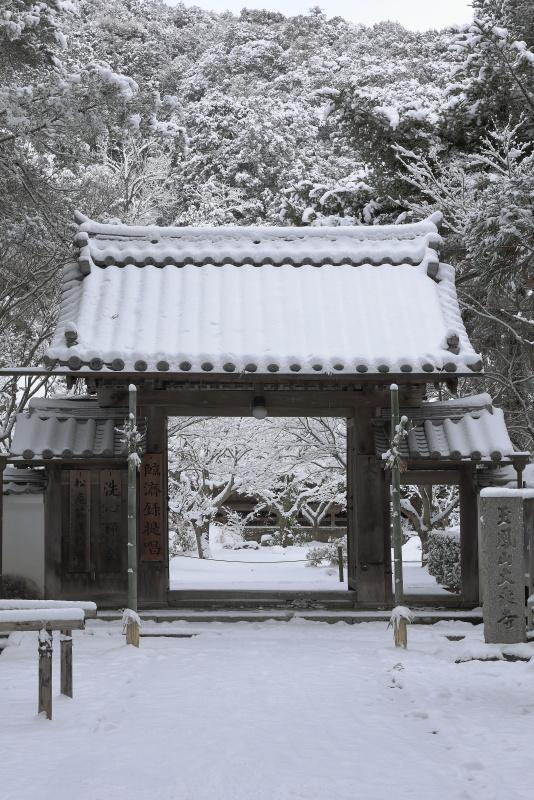 大乗寺_1月(雪、愛媛県宇和島市)_1イメージ1
