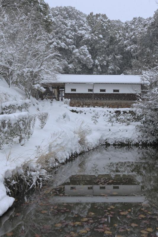 毛利家住宅_冬・雪(愛媛県宇和島市)イメージ1